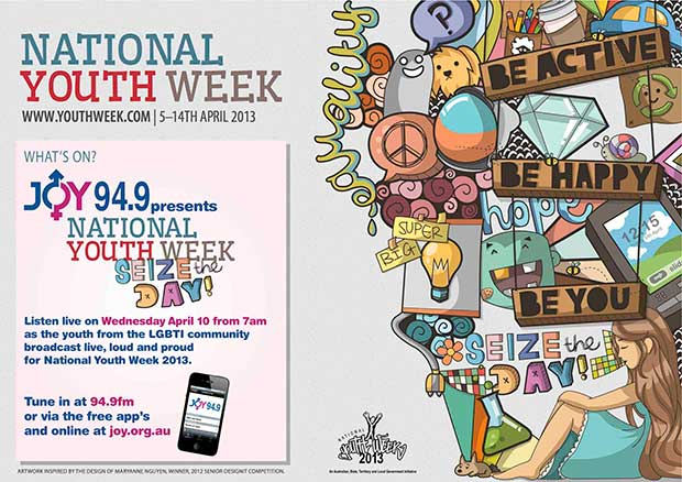 National Youth Week 2013 Poster