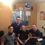 Todd & Tegan from Monash Student Union with Glen and Michael