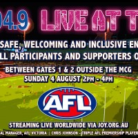 Listen and see JOY live at the 'G