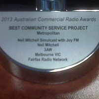 3AW and JOY 94.9 win Australian Commercial Radio Award