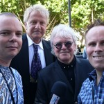 Leo and Johno with Aria Hall Of Fame Inductees - Air Supply