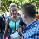 Leo and Johno interview TV personality Sophie Fawkner