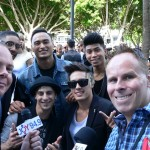 Interviewing the members of Justice Crew