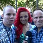 With 2012 The Voice contestant Sarah De Bono
