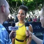With superstar Alicia Keys