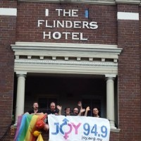 JOY 94.9 and 2ser's annual broadcast from Sydney Gay & Lesbian Mardi Gras Parade