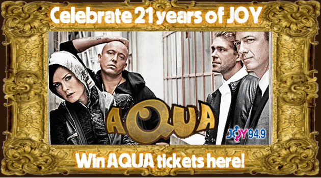 Win tickets to AQUA's Greatest Hits Tour!