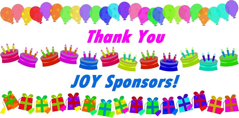 Our 21st Birthday Sponsors, we thank you!
