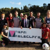 Sporting Stars at the 2015 Team Melbourne Sports Festival