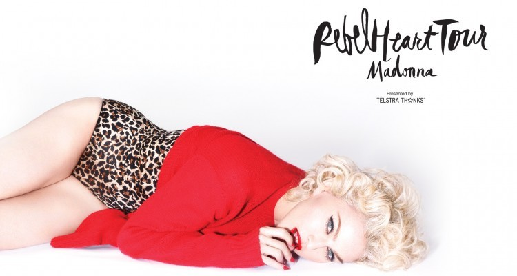Win tickets to Madonna's Rebel Heart Tour