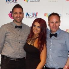 JOY at the ARIA Awards Red Carpet