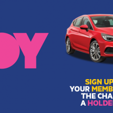 Win a Holden Astra RS this Radiothon