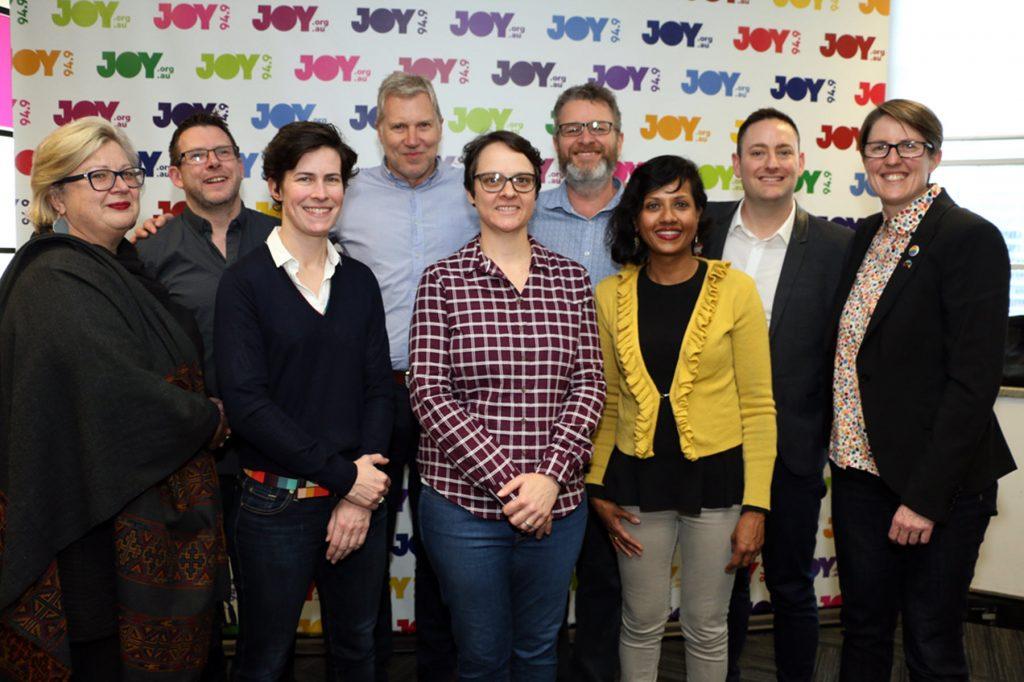 Jane Smith, Andrew Thorp, Tanya Matthewson, Ian Graystone, Rachel Rees, Andy McNamara, Kanthi Flynn, Marcus King, Melinda Rich.