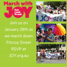 March with JOY