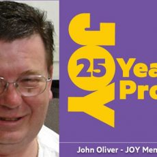 John Oliver (Member #1) last show on-air Friday 7 December @ 4pm