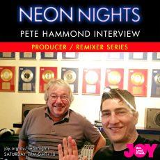 Neon Nights interviews Pete Hammond 7pm Saturday, December 8