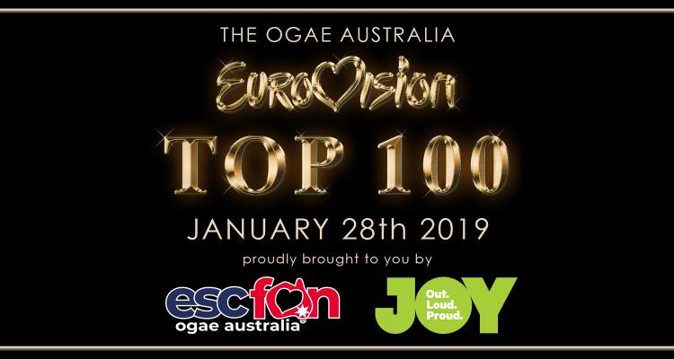 OGAE Australia – Eurovision Top 100 live on JOY 94.9