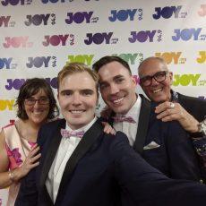Geoff & Daniel get married in the JOY Studios