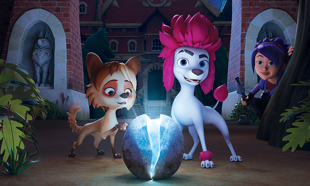 "JOY's very own Jessica Window featured in the Australian animated film ""100% Wolf"""