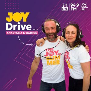 JOY 94.9 launches JOY Drive with Anastasia and Warren