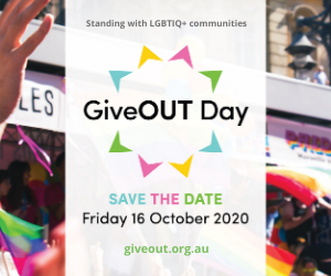 JOY is proudly media partner of GiveOUT Day 2020