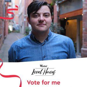 Vote for Sam Elkin, JOY's Local Hero!