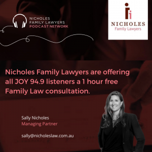 1hr free Family Law Consultation for JOY listeners