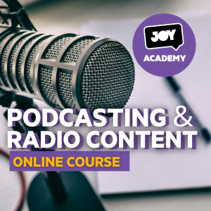"Register to ""Podcasting & Radio Content"" online course"