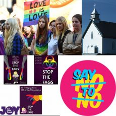 Marriage Equality ads and the law, Saying No to No and the church and Same Sex Marriage : 21st August 2017