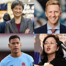 Penny Wong and Jason Ball on homophobia, plus which party has the best environment policies?