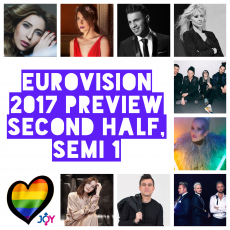 Epic Paper Love: Eurovision 2017 Preview – Second Half of Semi 1