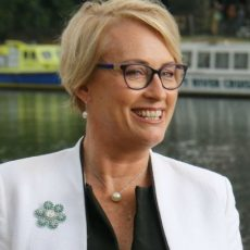 Sally Capp, Melbourne's new Lord Mayor