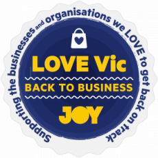 JOY's LOVE Vic campaign